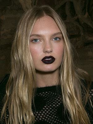 Black Lipstick: Not Just for Goths Anymore   Allure