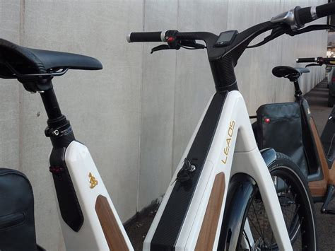 leaos solar electric bike fuses technology with elegant