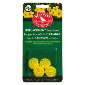 Perky Pet #205Y Yellow Replacement Bee Guards for Nectar