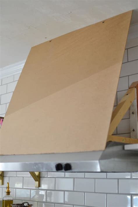 13 Pictures of a Truly Inspiring DIY Range Hood Cover