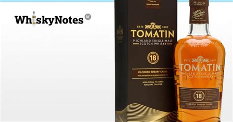 Tomatin 18 Years | WhiskyNotes review