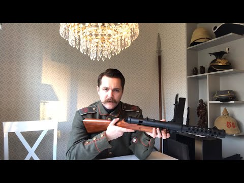 World War 1 MP-18 - Review & Shooting Test - EpicAirsoftHD