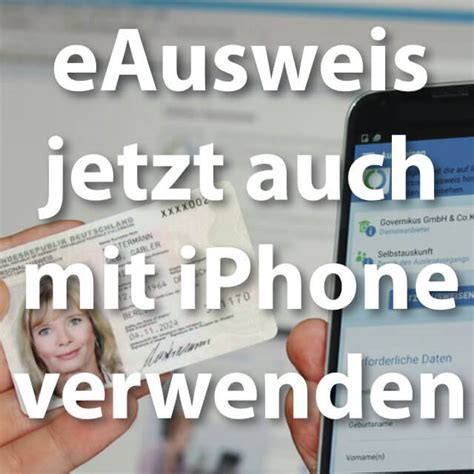 E-Government per iOS: iPhone als Online-Personalausweis