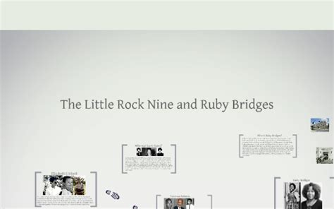 The Little Rock Nine and Ruby Bridges by Kelly Perry on Prezi
