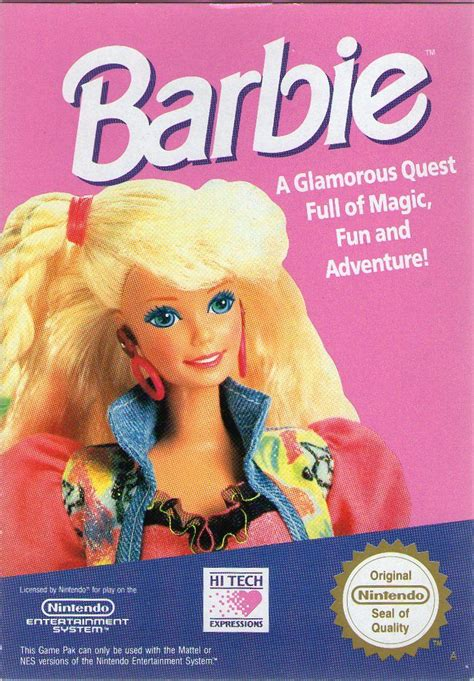 Barbie for NES (1991) - MobyGames
