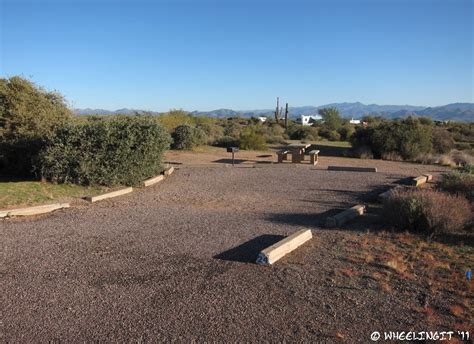 CP Campground Review – McDowell Mountain Regional Park
