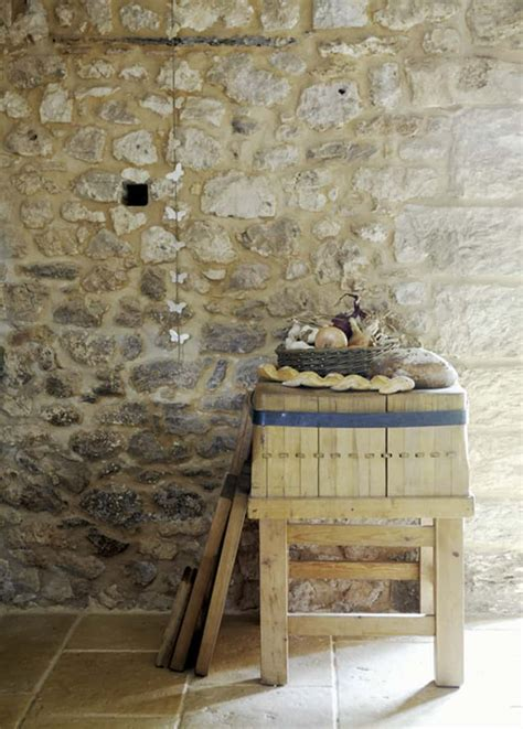 Precious Stone Old Farmhouse With Shabby Chic Details, France