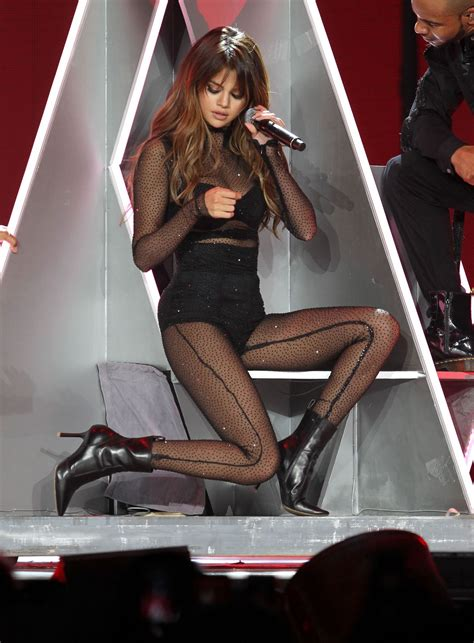 SELENA GOMEZ Performs at Revival Tour at Staples Center in