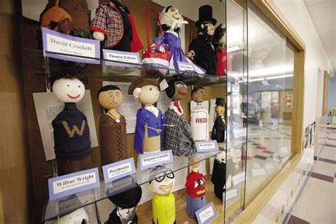 Bottle people projects helps students connect with history