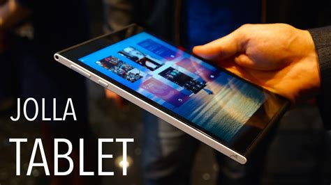 Hands-On with the Jolla Tablet and Sailfish 2