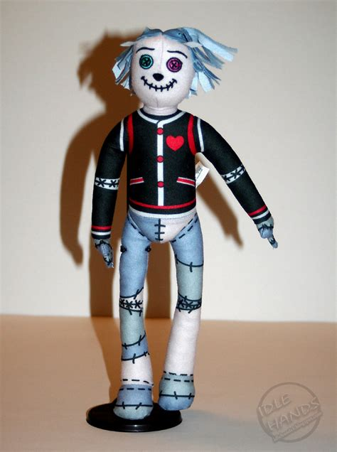 Scarah Scream and Hoodude- Diary, Doll and box - Monster