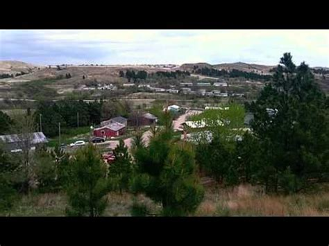 Walk-about on our Sioux Indian Reservation - YouTube