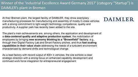 Industrial Excellence Conference 2017