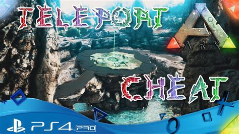 ARK PS4 🇩🇪 - Teleport Cheat Command - Let´s Play ARK