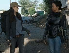 Walking Dead: Sasha and Rosita join forces to fight Negan
