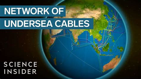 Undersea Cables Power The Internet - YouTube
