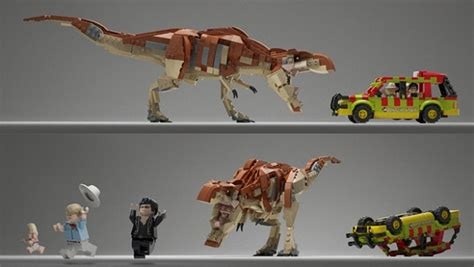 WB GAMES & LEGO REVEAL FIRST TRAILER FOR LEGO JURASSIC