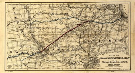 Railroad Maps, 1828 to 1900, Available Online, Middle West