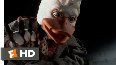 Howard the Duck (1/10) Movie CLIP - No More Mr