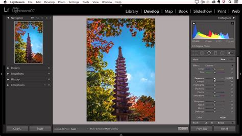 Lightroom CC - Enhancing Isolated Areas of an Image with