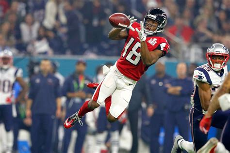 Who is on the list of 2018 Atlanta Falcons free agents