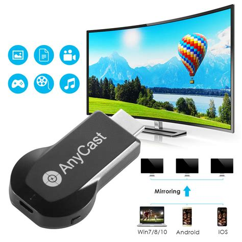Anycast Wireless 4K WiFi Display Dongle Adapter Video