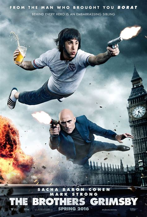 The Brothers Grimsby (2016) Poster #2 - Trailer Addict