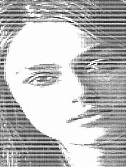 Retro Thing: ASCII Babes: Pinup Pictures For Your Lineprinter