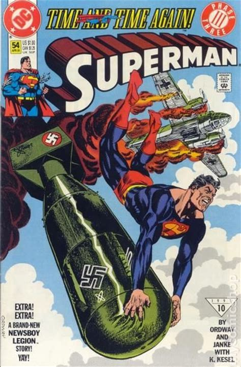 Comic books in 'Superman Time and Time Again'