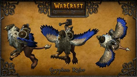 Gryphon Rider image - Warcraft: Armies of Azeroth mod for
