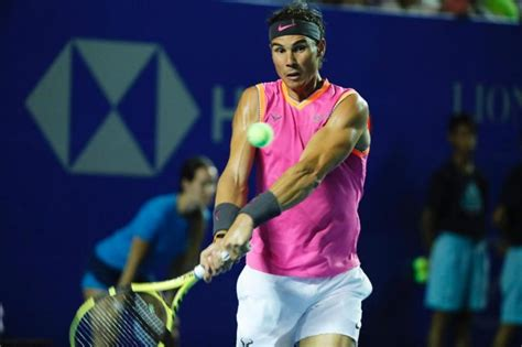 Playing in the same tournament as Rafael Nadal, Ferrer was