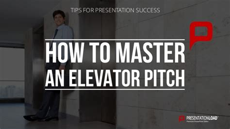 How to master an Elevator Pitch
