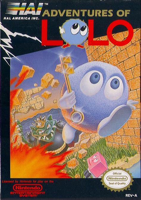 Adventures of Lolo for NES (1989) - MobyGames