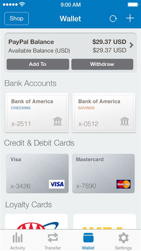 PayPal App for iPhone Updated With Touch ID Support for