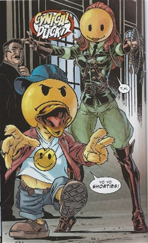 Howard the Duck (the duck, the myth, the legend)