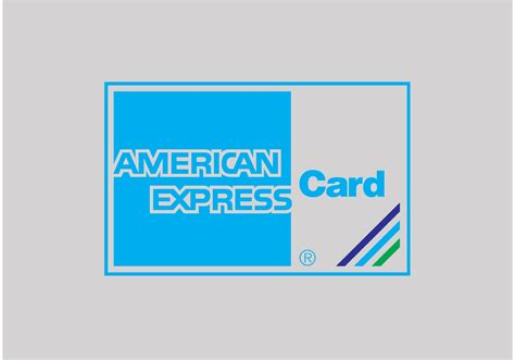American Express Card - Download Free Vector Art, Stock